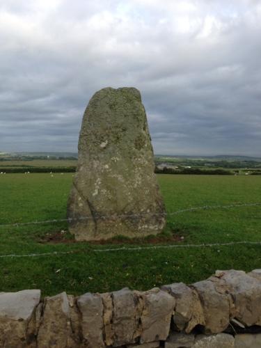 A random standing stone