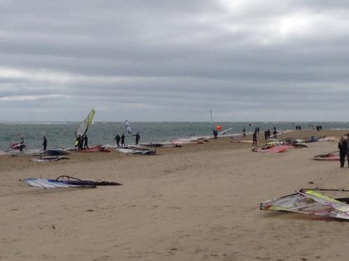 Aberdyfi windsurfers 2