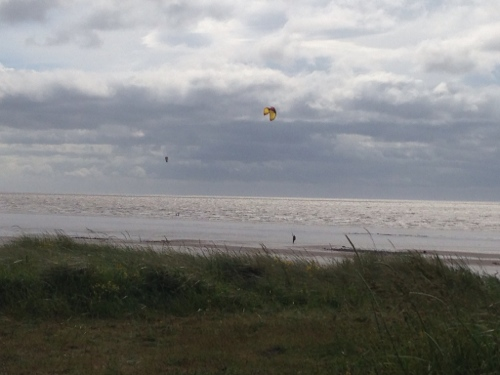 Allonby Bay - Kite Surfers