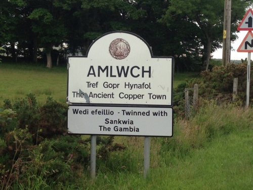 Amlwch - twinned with Sankwia in The Gambia