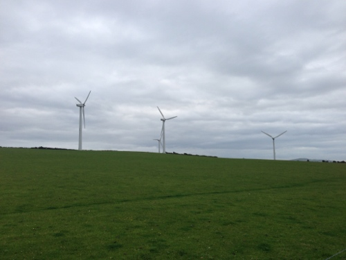 Anglesey has it fair share of wind farms