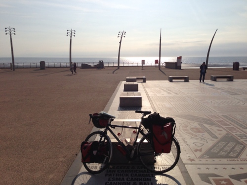 Bike around Blackpool