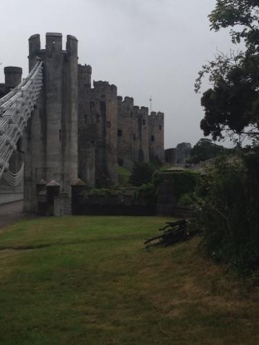 Bridge and Conwy Castle