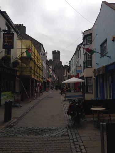 Caernarfon street
