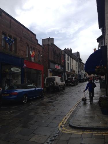 Conwy - raining again