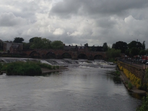 Dumfries - the River Nith