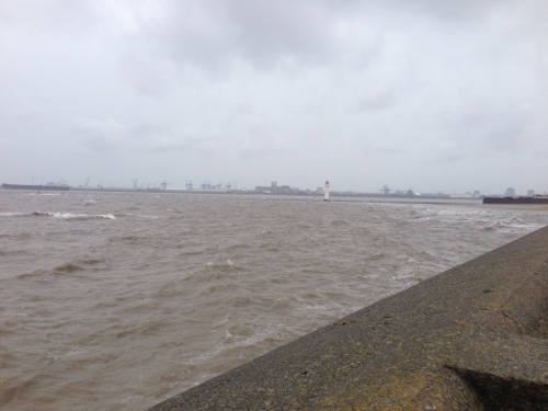 Grim day on the Mersey