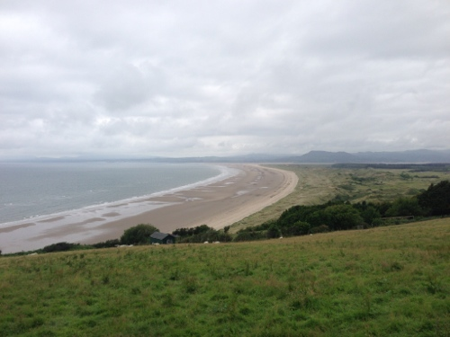 Hills above Harlech, looking back North