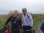 Meeting Mark Beaumont - near Thurso