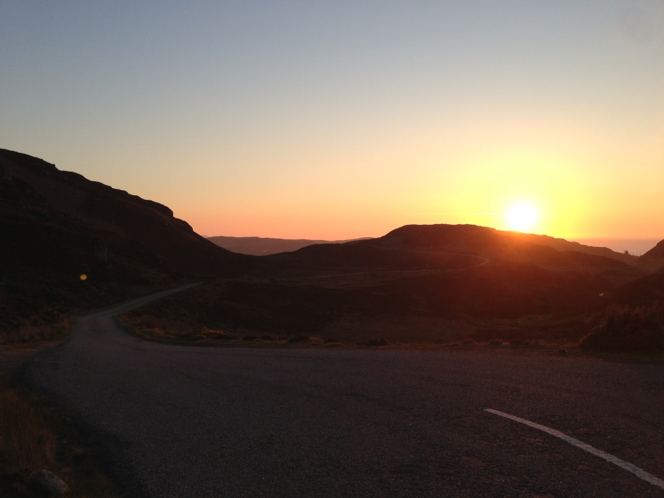 Evening ride to Bettyhill 2 - North Coast of Scotland