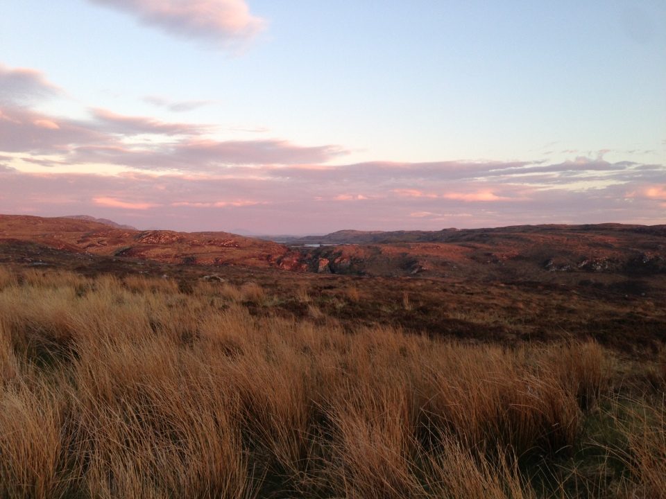 Evening ride to Bettyhill - North coast of Scotland