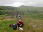 Wild camping near the Mull of Kintyre