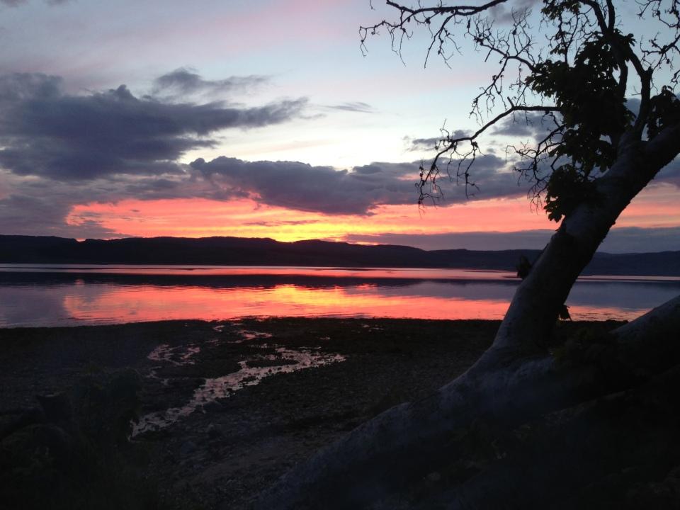 Loch Fyne sunset 1