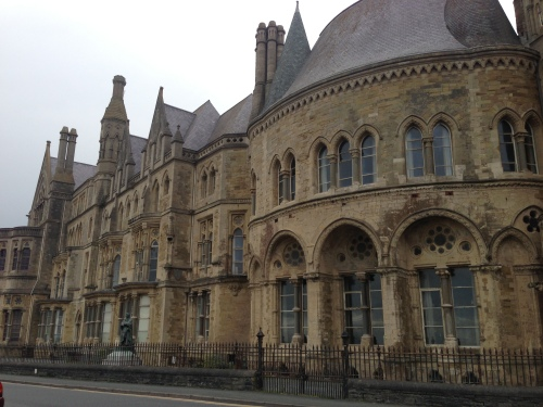 Aberystwyth University building
