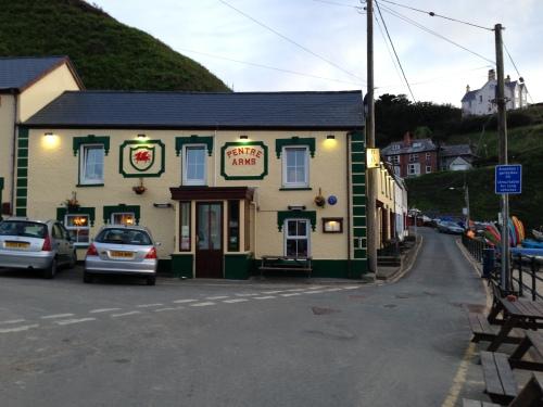 Llangrannog pub