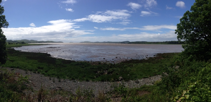 Kirkcudbright Bay from the other side
