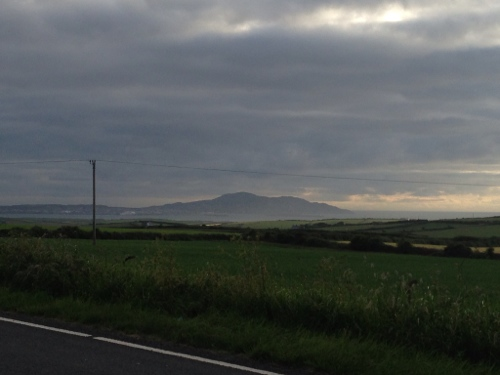 Looking south west towards Holyhead