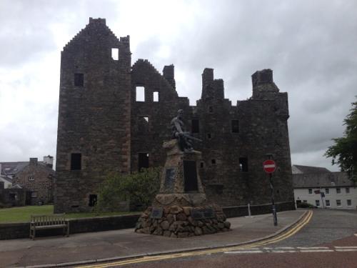 MacLellan's Castle - Kirkcudbright