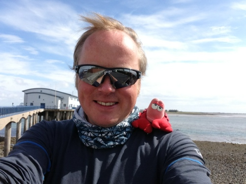 Me and Lobster - Piel Island