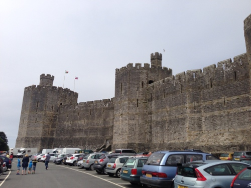 More of Caernarfon Castle