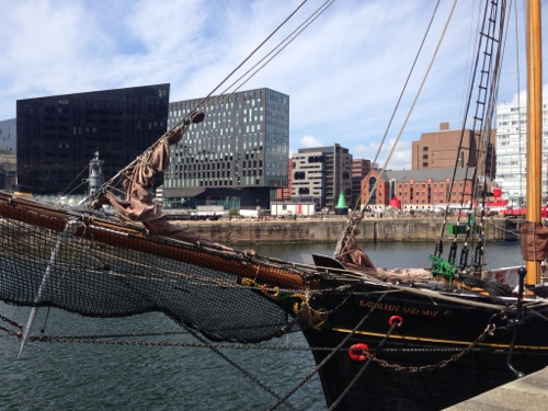 The Kathleen and May - Albert Docks