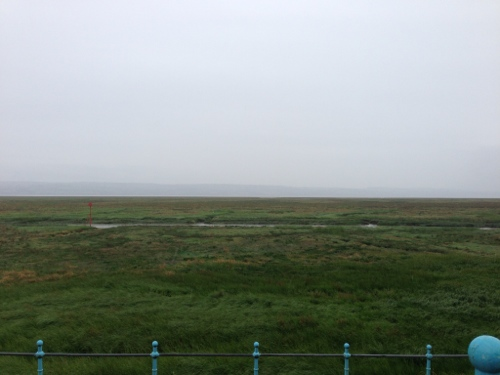 The Wirral Way - I could just about see Wales