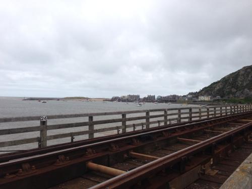 Toll bridge looking back towards Barmouth