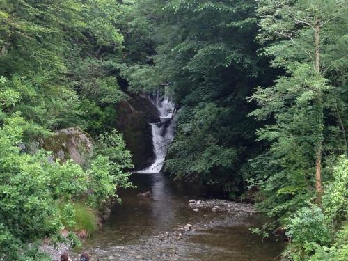 Waterfall next to Furnace
