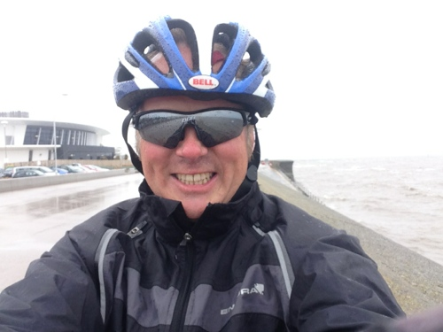 Wet and windy on the Wirral Way