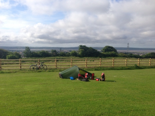 Caemawr Farm - weather significantly improved