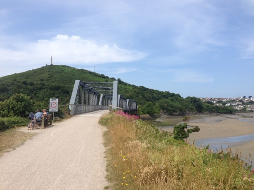 Camel Trail - old railway bridge