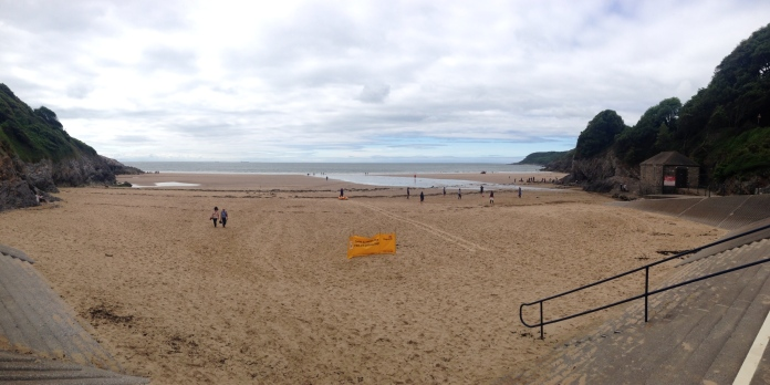 Caswell Bay panorama