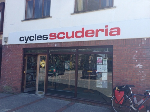 Cycles Scuderia - a lucky 'break'