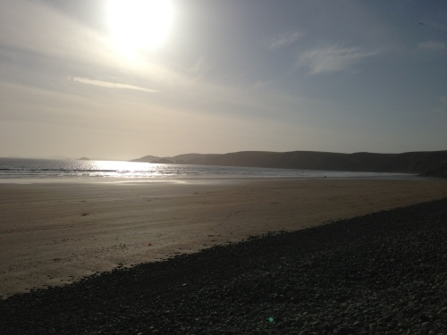 Newgale Beach looking west