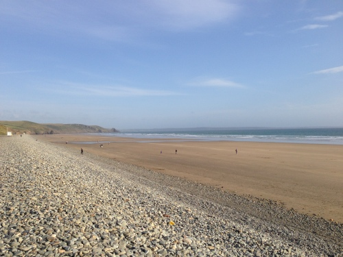 Newgale Beach looking east