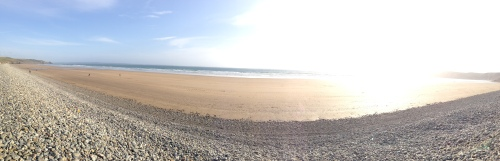 Newgale Beach panorama