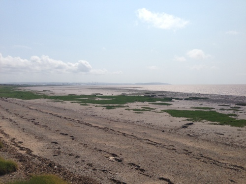 Severn Estuary in the sunshine