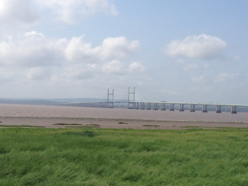 Severn Estuary and Bridge again