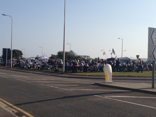 Weston-Super-Mare - biker rally