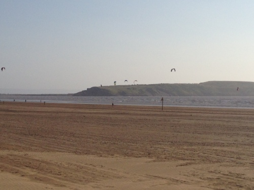 Weston-super-Mare - Kite Surfers 1