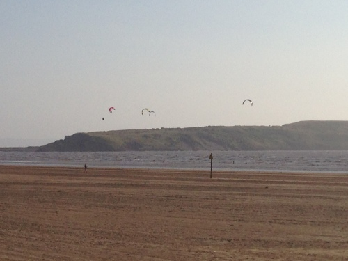 Weston-super-Mare - Kite Surfers 2