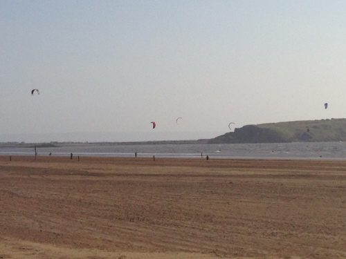 Weston-super-Mare - Kite Surfers 3