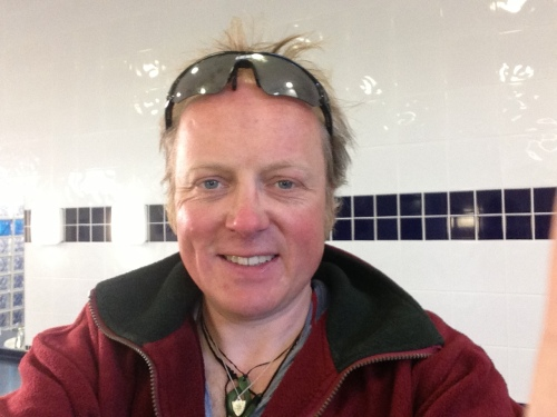Me looking a but weather beaten in Brean