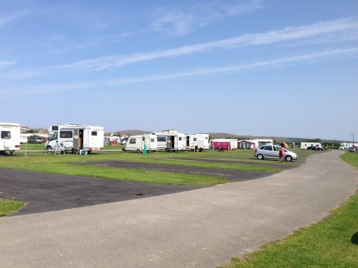 Warren Farm Holiday Park - a lovely sunny day