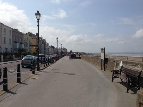 Burnham seafront