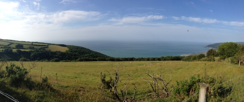 Porlock Toll Road 10 - panorama