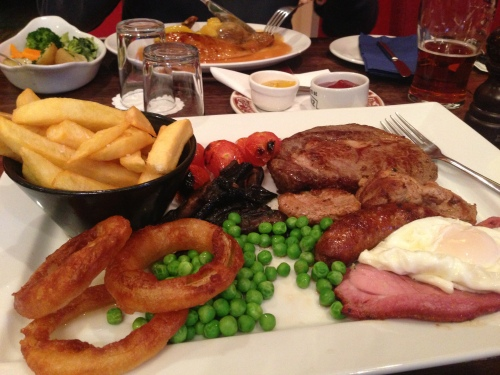 Hele Billy mixed grill - a must for the serious cycle tourer
