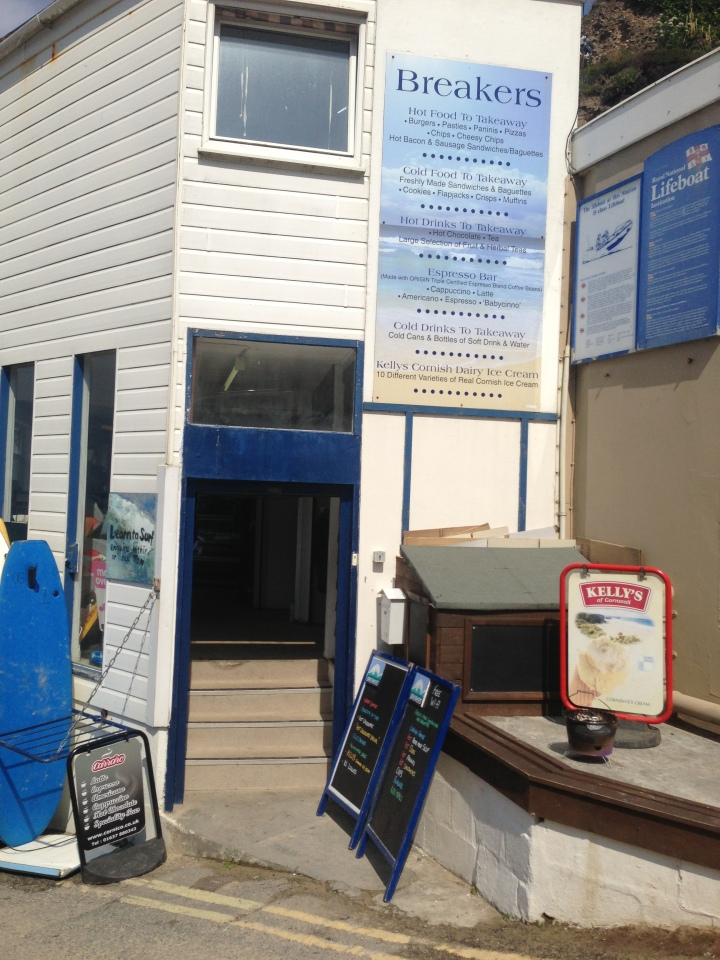 Breakers Cafe, St. Agnes
