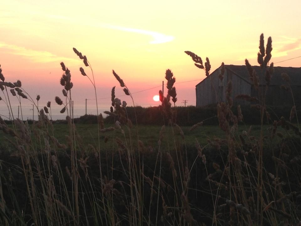 Trevedra Farm Sunset 1
