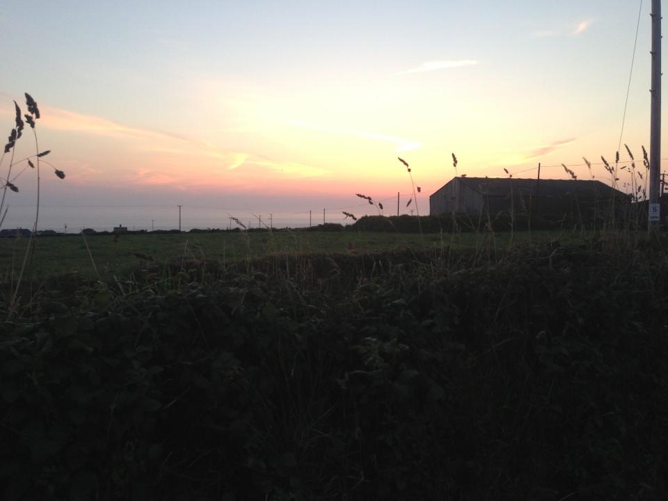 Trevedra Farm Sunset 5